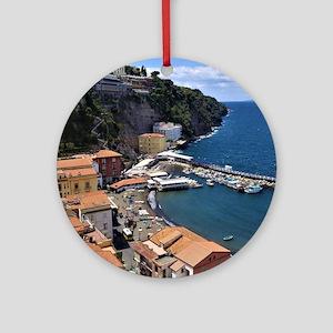 Marina Grande, Sorrento, Italy Round Ornament