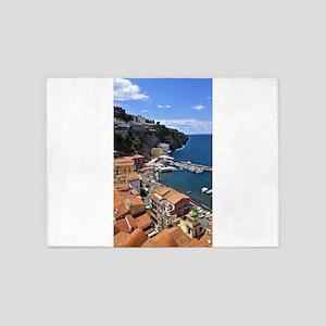 Marina Grande, Sorrento, Italy 5'x7'Area Rug