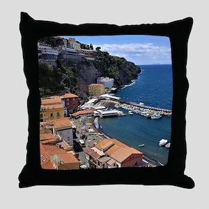 Marina Grande, Sorrento, Italy Throw Pillow
