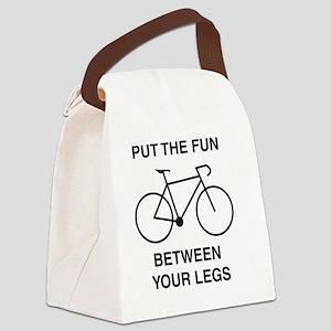 funbetweenthelegs Canvas Lunch Bag