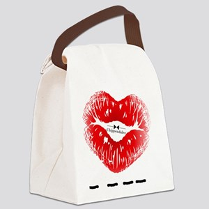I_HEART_BILLY Canvas Lunch Bag