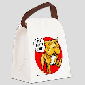 pitbull Canvas Lunch Bag
