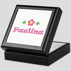 "Pink Daisy - ""Paulina"" Keepsake Box"