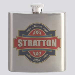 Stratton Old Label Flask