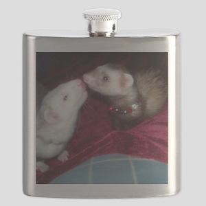Ferret Kiss Flask