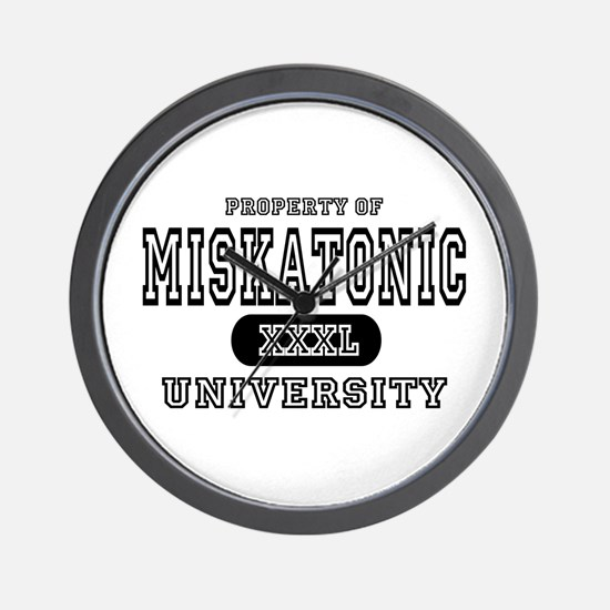 Miskatonic University Wall Clock