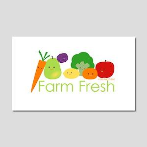 """Farm Fresh"" Car Magnet 20 x 12"
