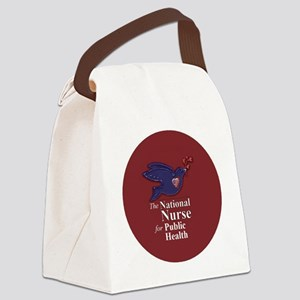 Maroon-New Canvas Lunch Bag