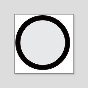 "Scorpio Cancer Cancer Square Sticker 3"" x 3"""