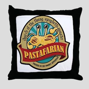 Pastafarian Seal Throw Pillow