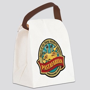 Pastafarian Seal Canvas Lunch Bag