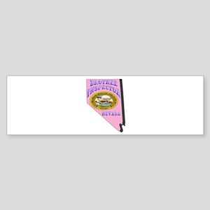 Nevada Brothel Inspector Bumper Sticker