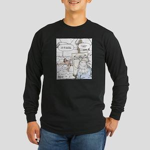 Proportion Man Final Long Sleeve Dark T-Shirt