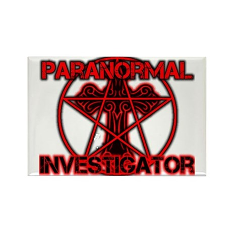 Paranormal signs Rectangle Magnet