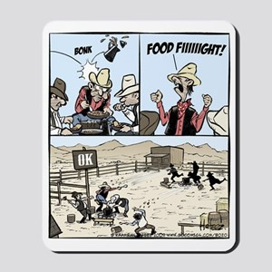 Food Fight Final Mousepad