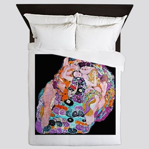 klimtvirgin7 Queen Duvet