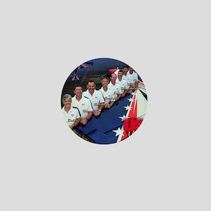 USA Team Poster Mini Button