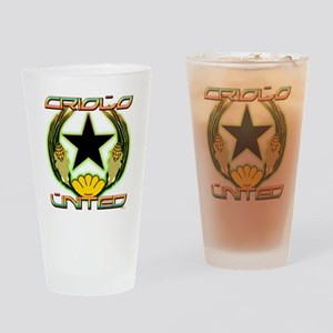 criolounited_4blk Drinking Glass