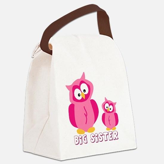 bog-sister-owls Canvas Lunch Bag