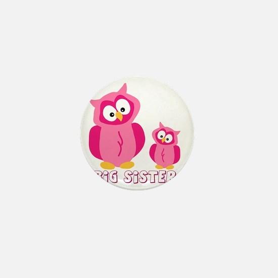 bog-sister-owls Mini Button
