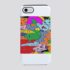 Brain Warp iPhone 7 Tough Case