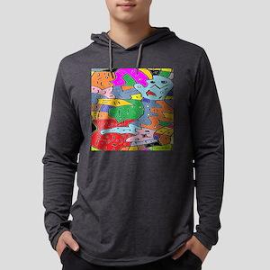 Brain Warp Long Sleeve T-Shirt
