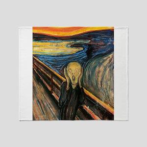 The Scream Throw Blanket
