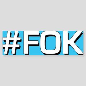 FOK Button Sticker (Bumper)