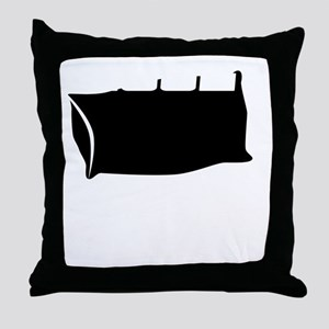 COOL LIKE THE OTHER SIDE OF THE PILLO Throw Pillow