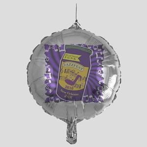 2-jam jazzfest Mylar Balloon
