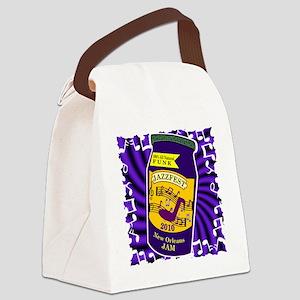 2-jam jazzfest Canvas Lunch Bag