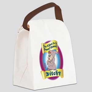 Bitchy4_10x10 Canvas Lunch Bag