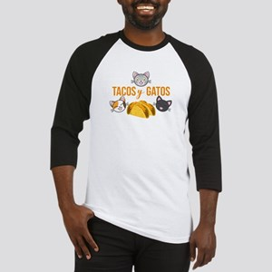 Tacos y Gatos Baseball Jersey