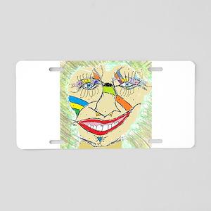 Larry Booley Aluminum License Plate