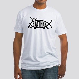 Heathen Fish Fitted T-Shirt