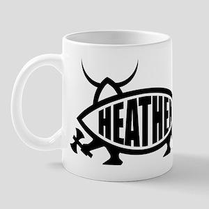 Heathen Fish Mug