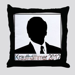 Krauthammer 2012 square Throw Pillow