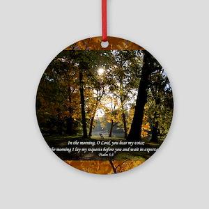 psalm53 Round Ornament