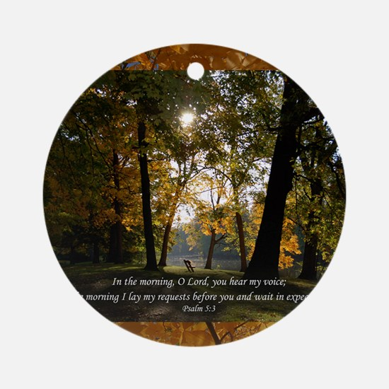 psalm53 Round Ornament