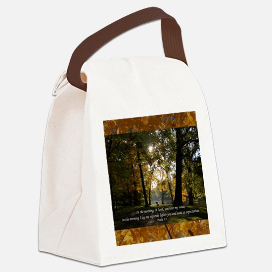psalm53 Canvas Lunch Bag