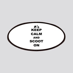 Keep Calm and Scoot On Patches