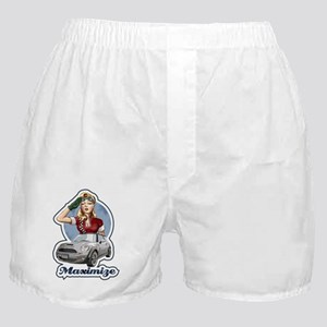 PinUp Driver Black Boxer Shorts