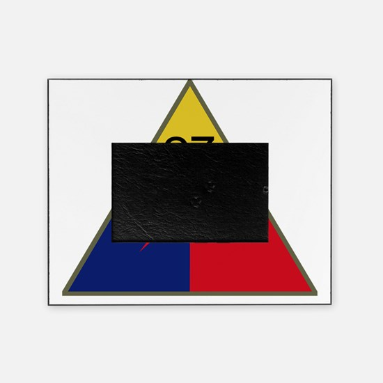 27th Armored Division Picture Frame
