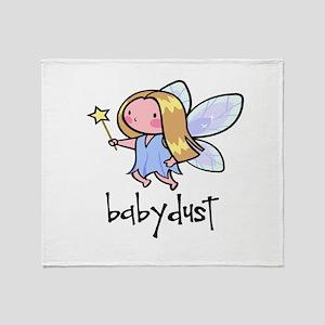 babydust Throw Blanket