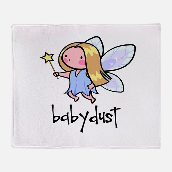 babydust.png Throw Blanket