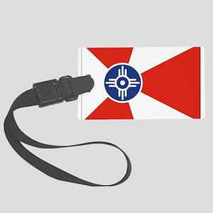 Wichita ICT Flag Large Luggage Tag