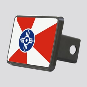 Wichita ICT Flag Rectangular Hitch Cover