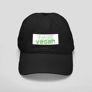100% Vegan Black Cap