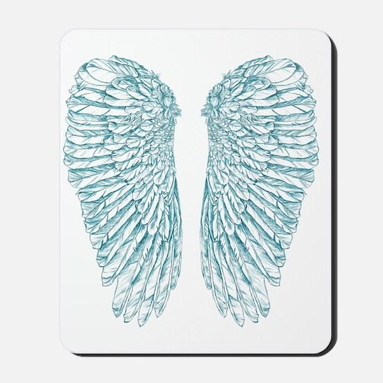 Blue Angel Mousepad
