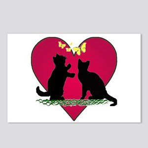 I love my kittens Postcards (Package of 8)